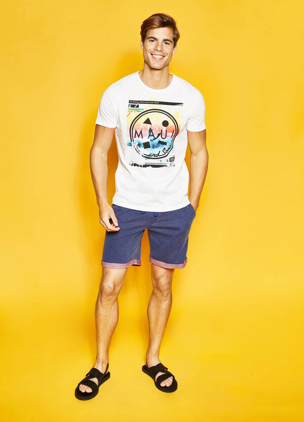 Bermuda shorts with patch by Maui and Sons | OVS
