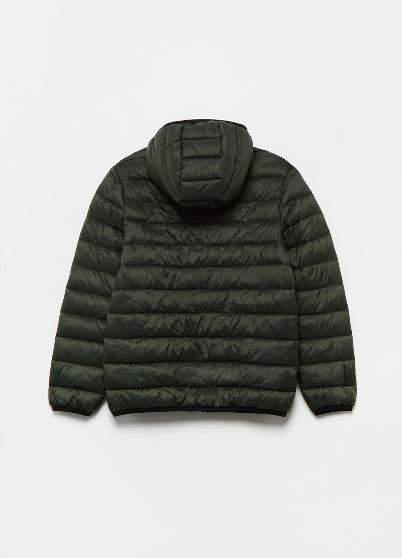 Quilted ultralight down jacket with pockets image number null