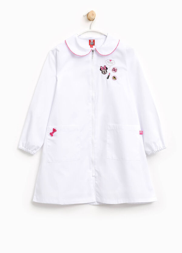 Cotton smock with Minnie Mouse embroidery | OVS