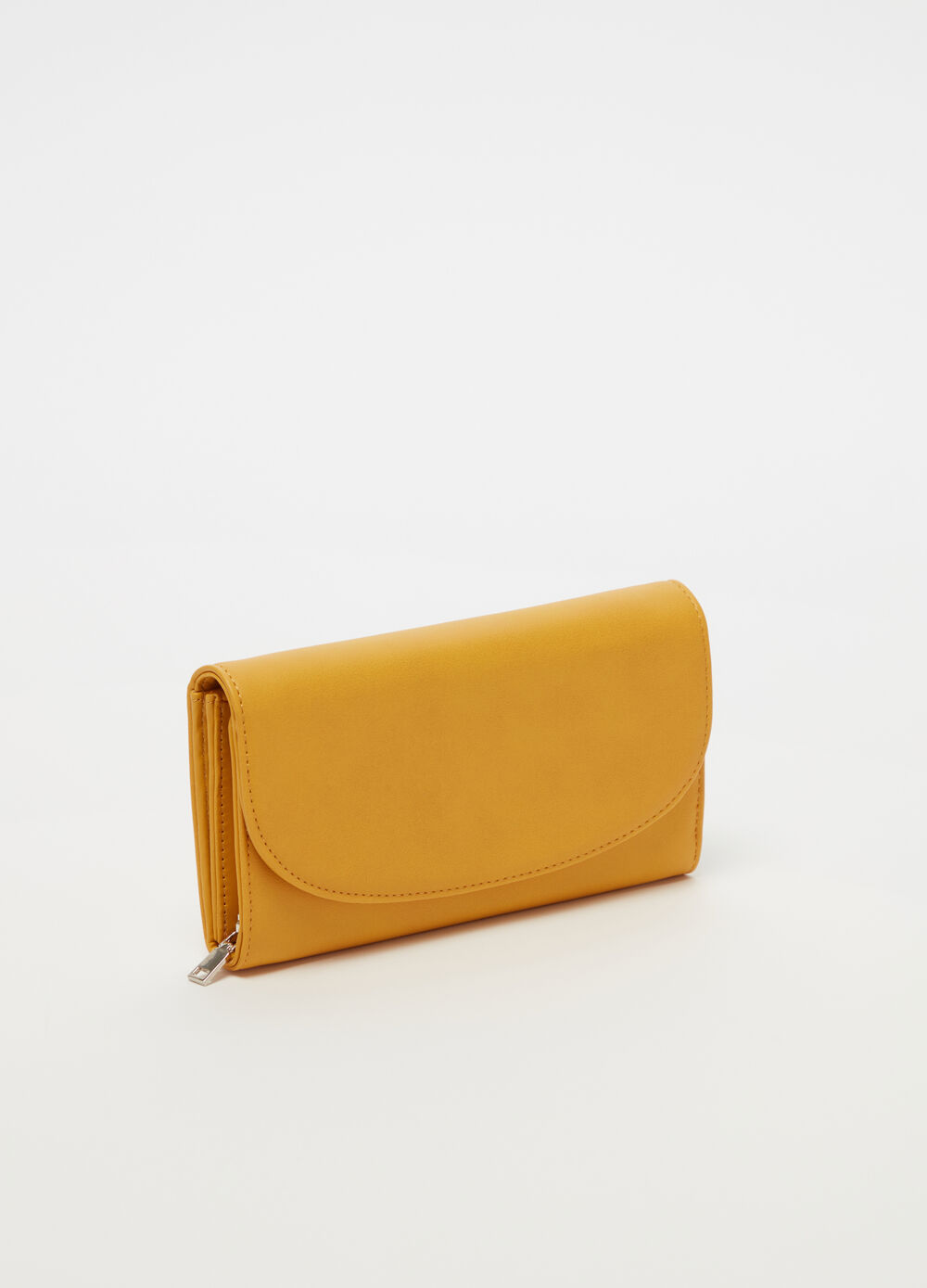 Wallet with flap, pocket and zip
