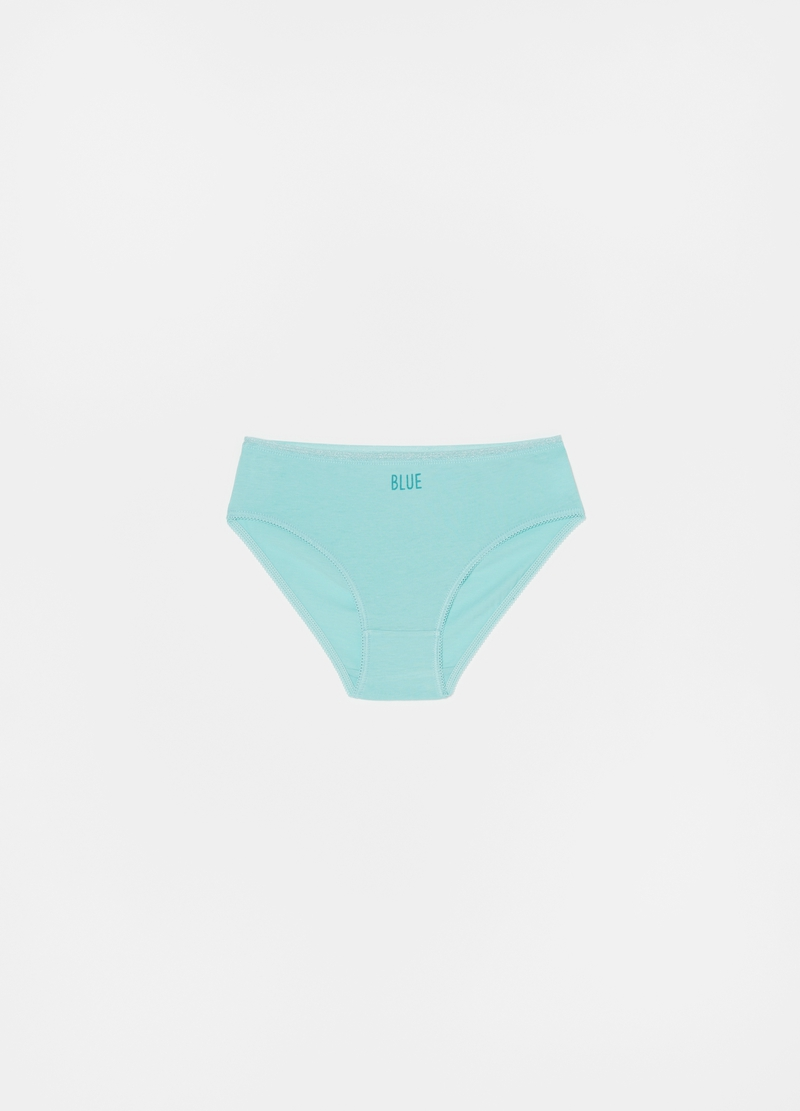 Five-pack briefs with lurex edging image number null
