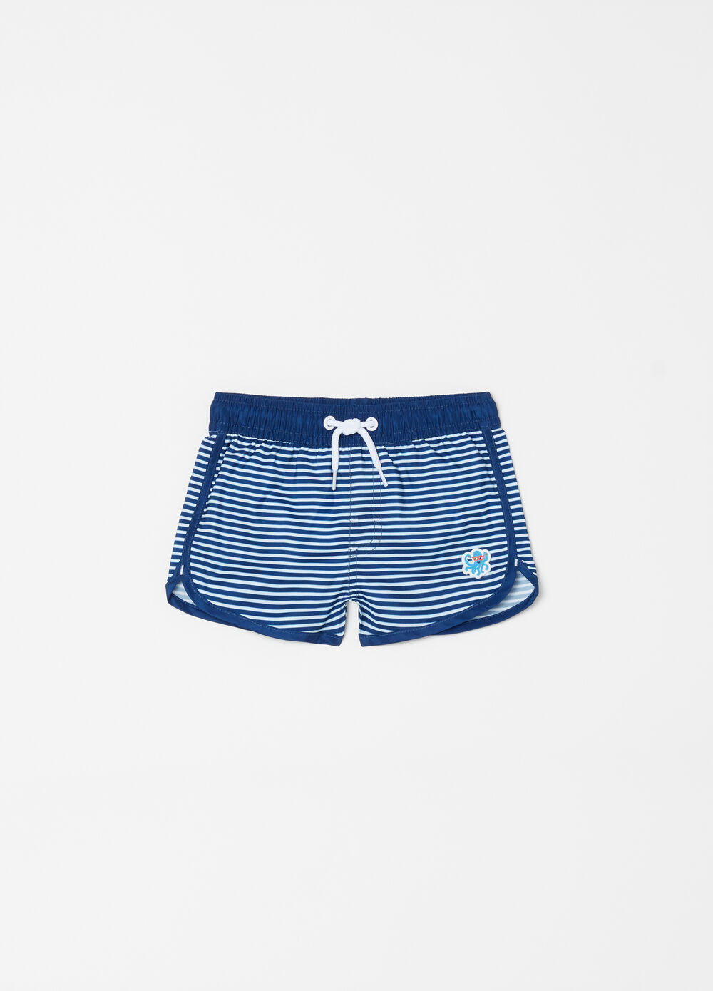 Boxer mare con coulisse patch a righe