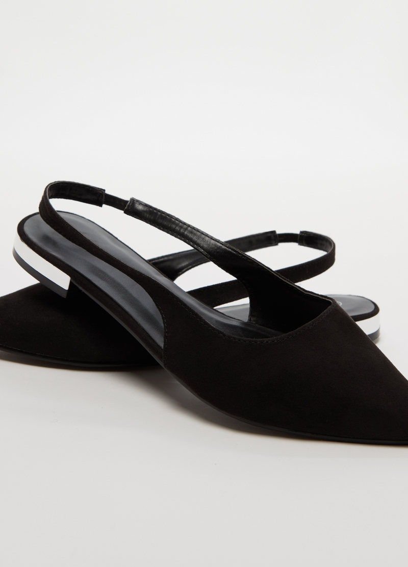 Slingback with flat heel image number null