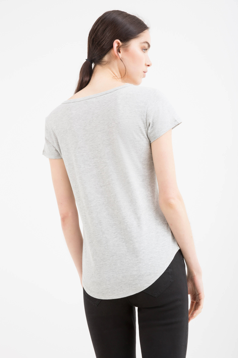 Printed cotton T-shirt image number null