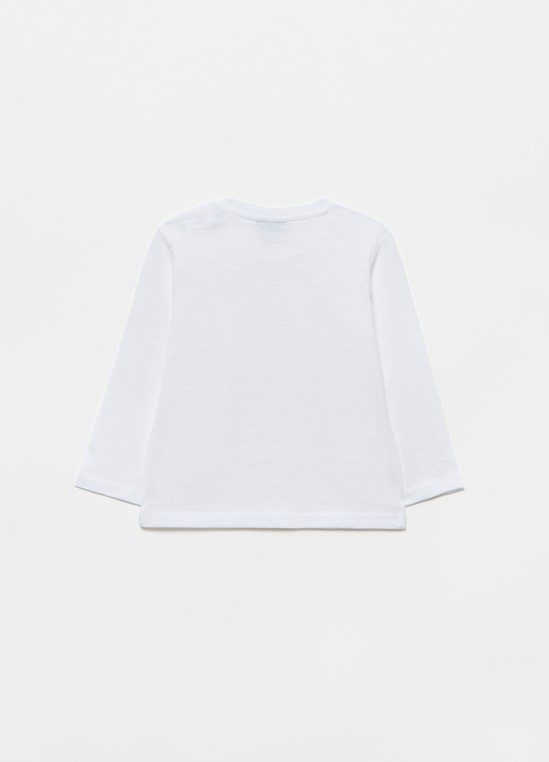 100% organic cotton T-shirt with small pocket image number null