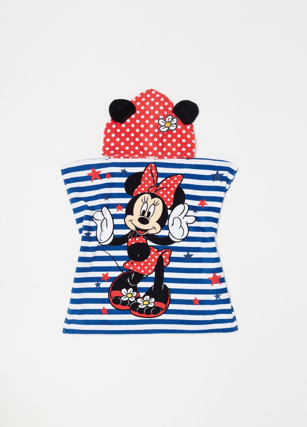 Accappatoio a righe Disney Baby Minnie