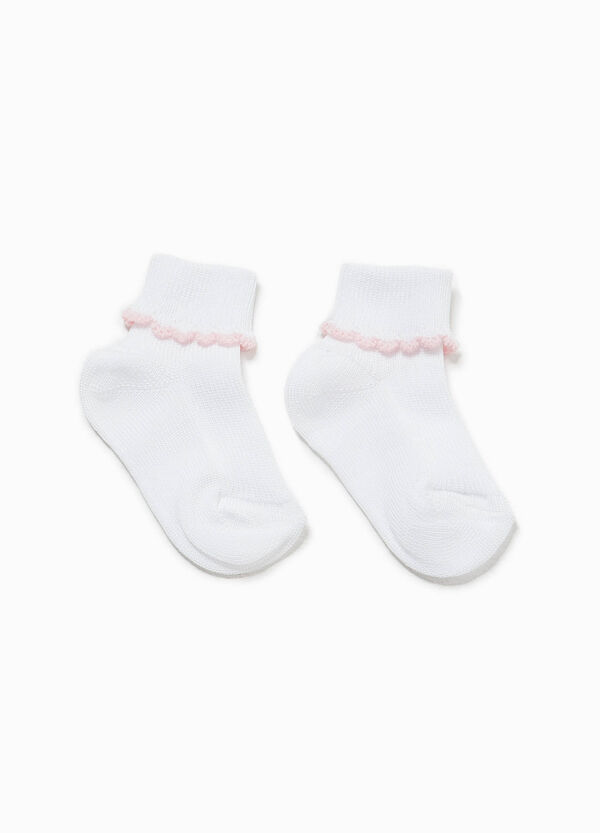 Short socks with fold | OVS