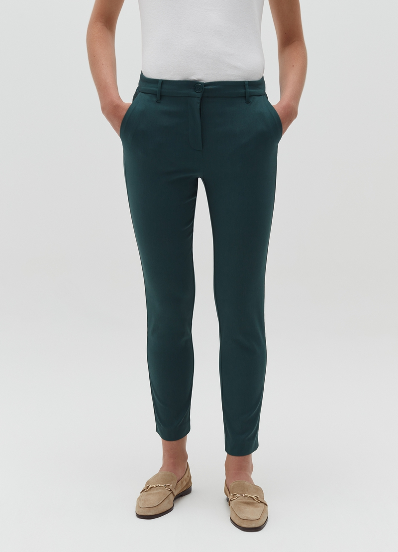 Pantaloni stretch a sigaretta image number null