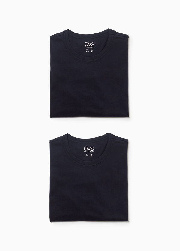 Two-pack jersey undershirts