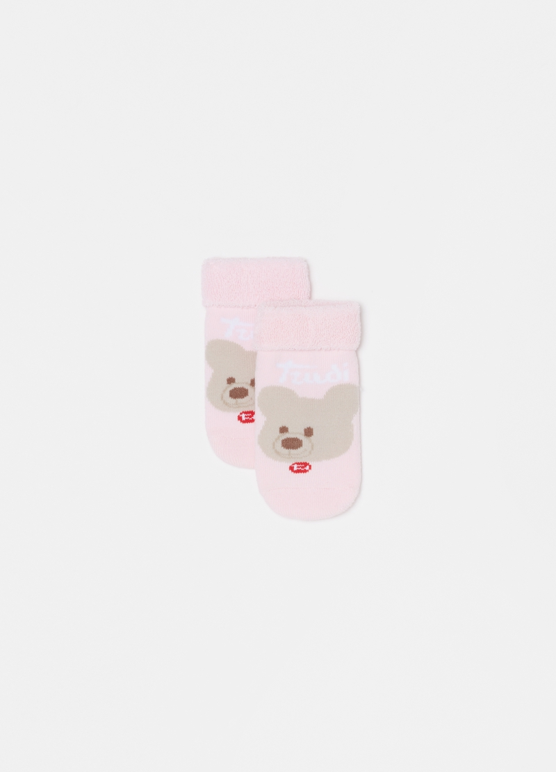 Trudi short socks with teddy bear image number null