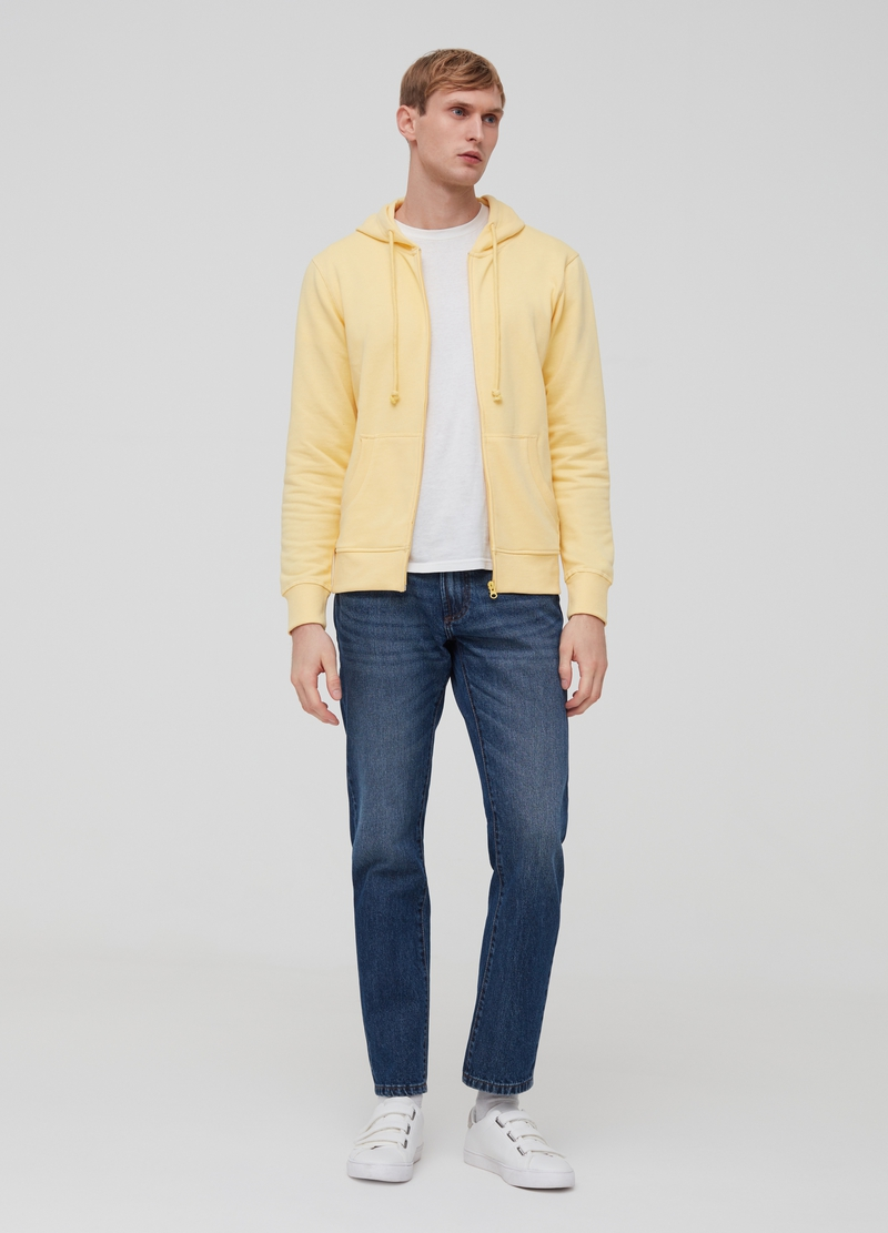 Solid colour hoodie image number null