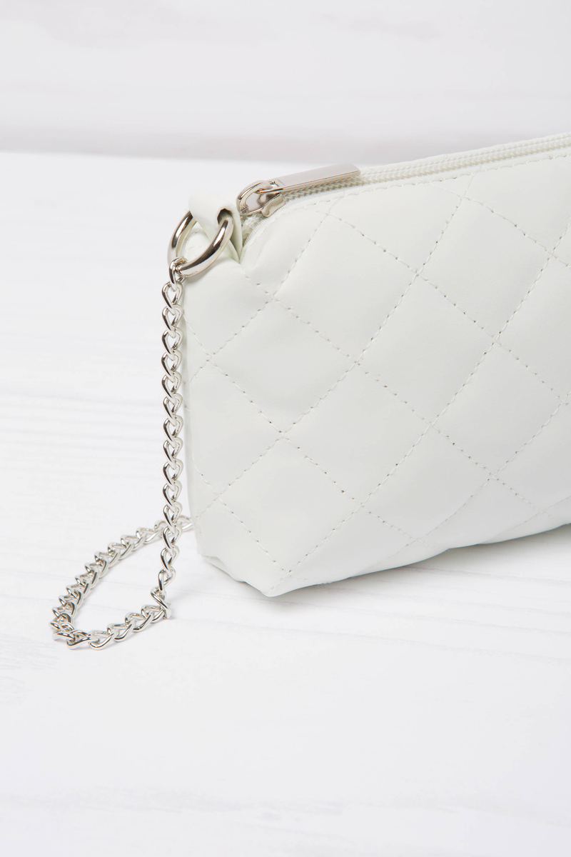 Quilted mini bag image number null