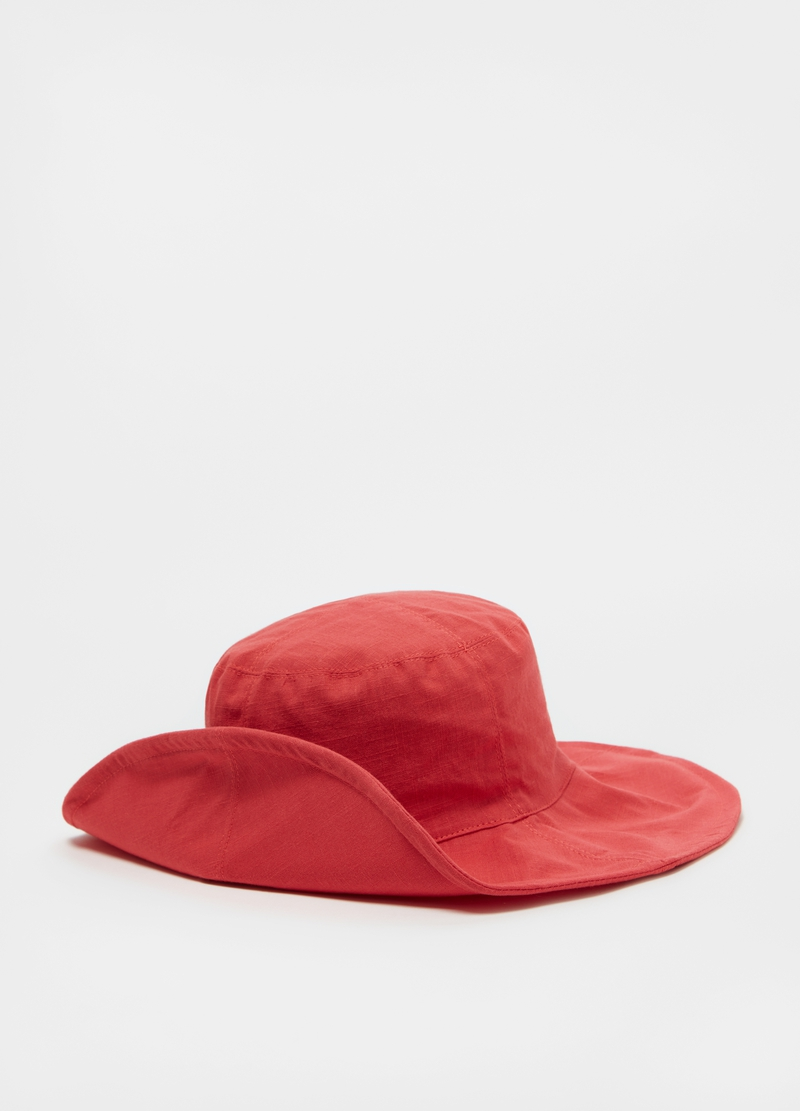 Linen and cotton hat image number null