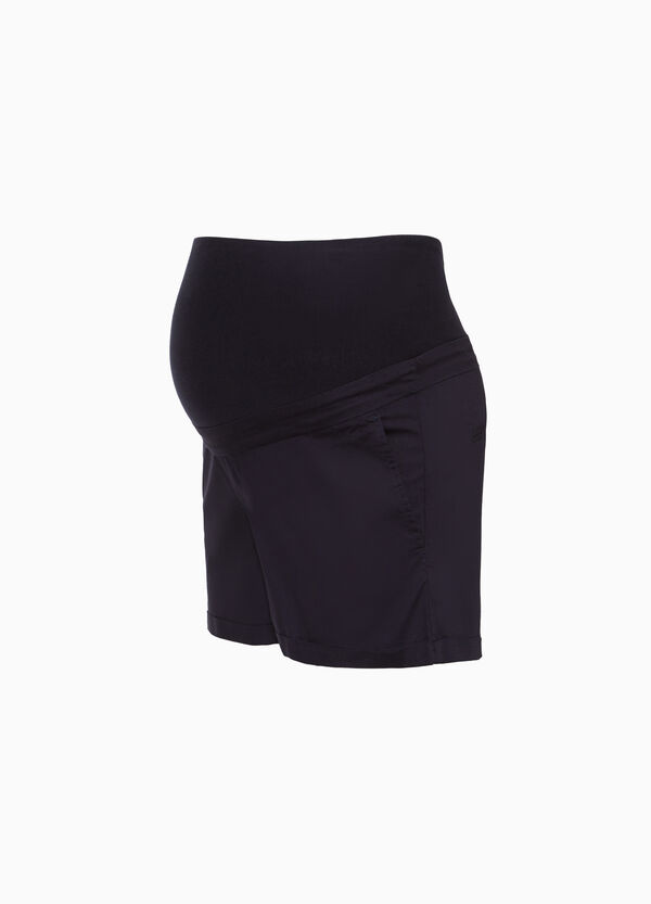 Shorts in cotone stretch MUM