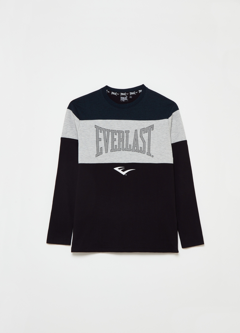 Everlast colourblock T-shirt with round neck image number null