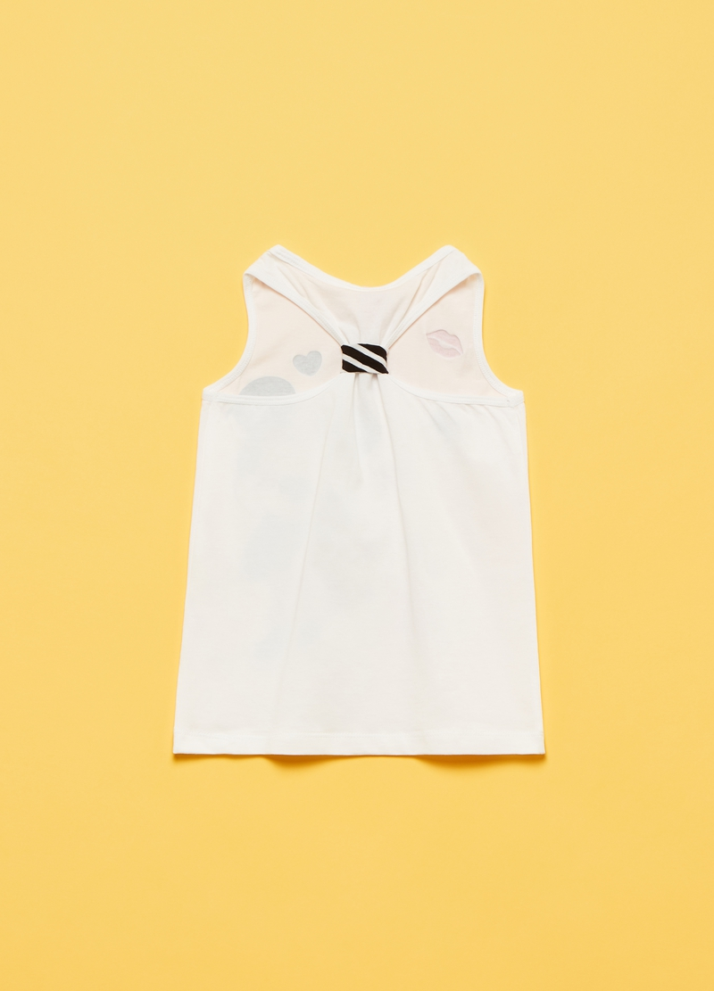 Tank top in cotone stretch Disney Topolino image number null