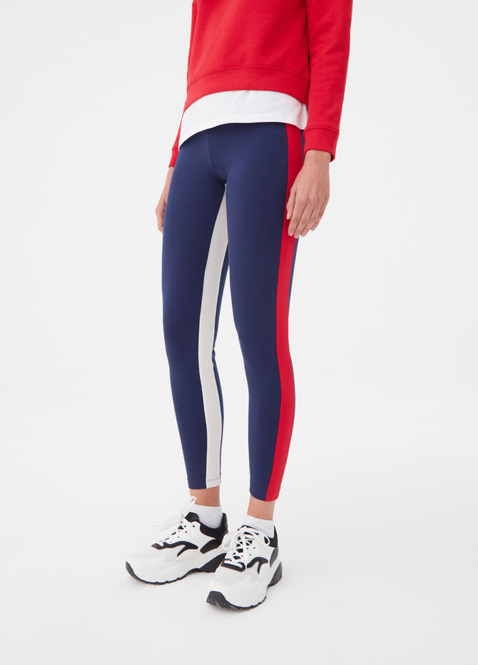 BCI leggings with contrasting bands