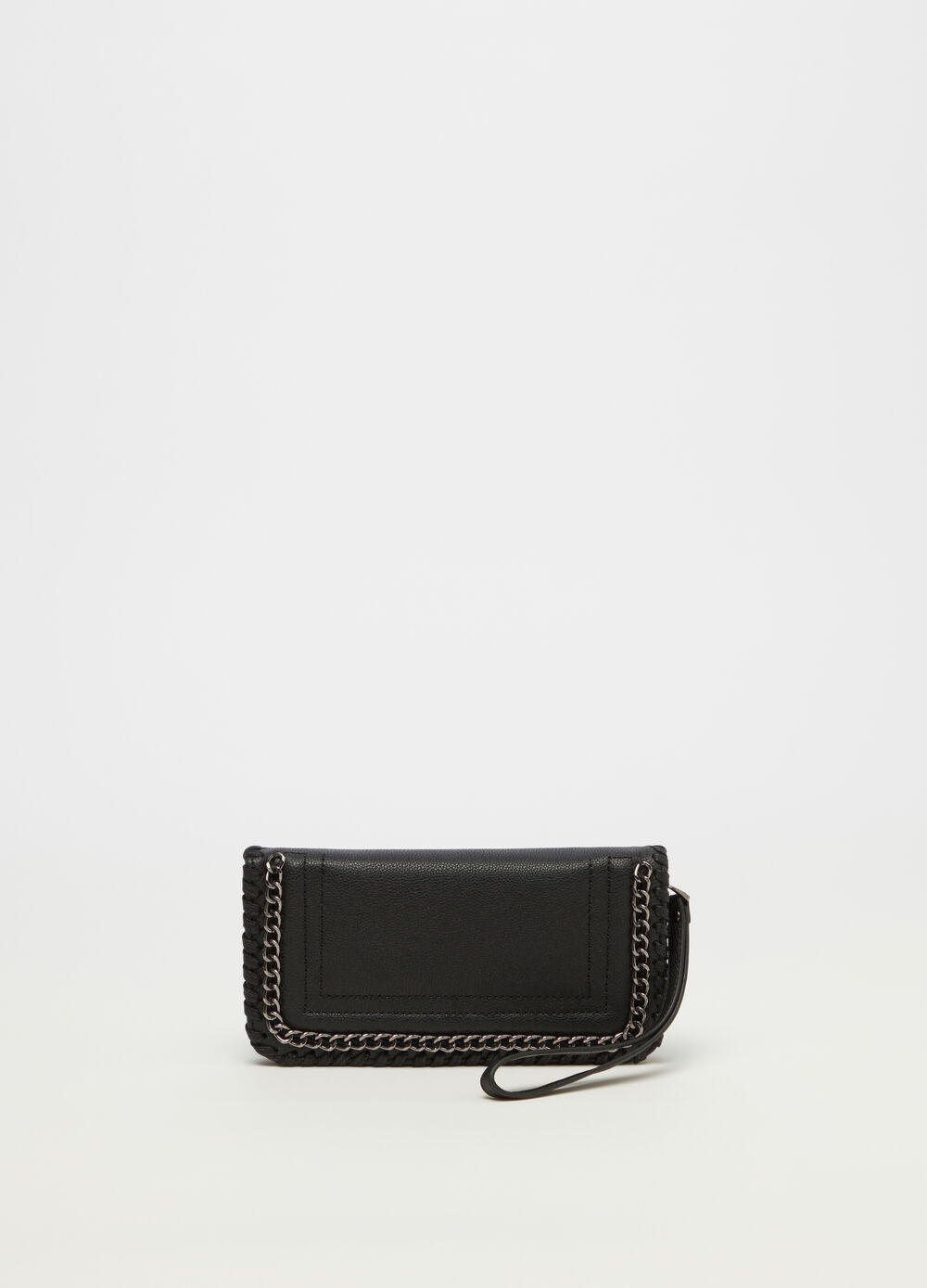 Purse with chain detail