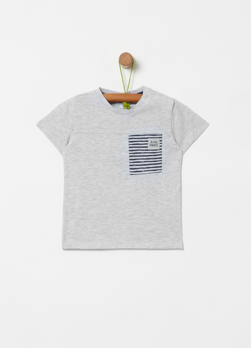 Organic cotton and viscose T-shirt image number null