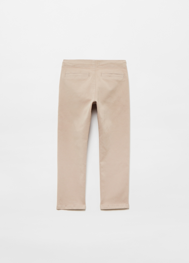 Pantaloni chino con coulisse image number null