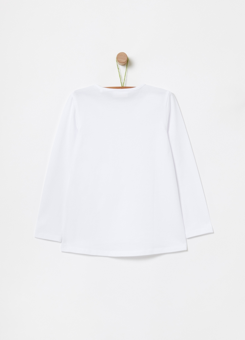 T-shirt cotone bio stretch image number null