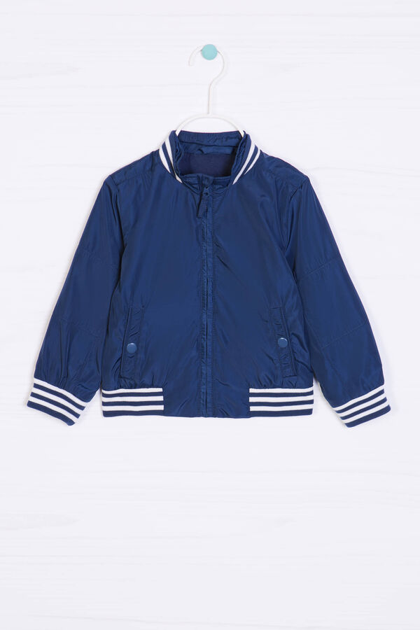 Solid colour jacket with high neck | OVS