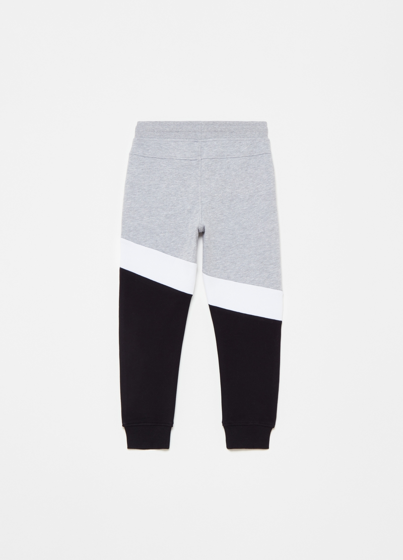 Joggers colorblock stampa Batman image number null