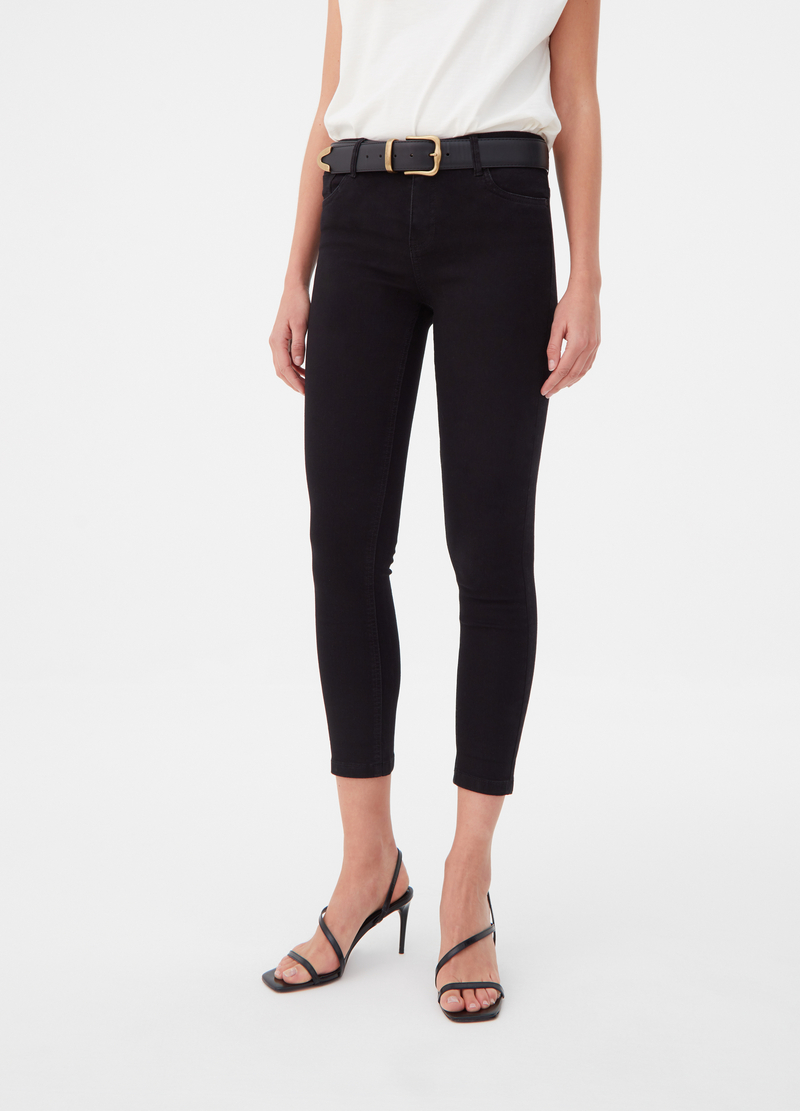 Jeans crop skinny fit cinque tasche image number null