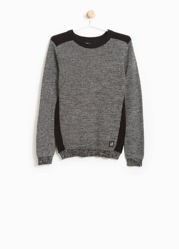 100% cotton ribbed pullover