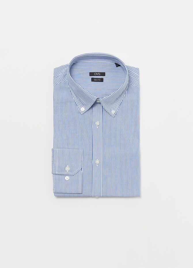 Regular-fit poplin shirt