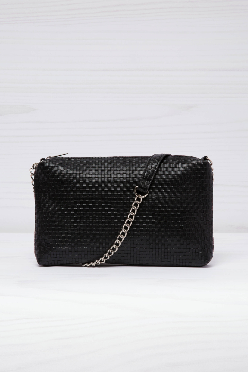 Woven texture clutch image number null