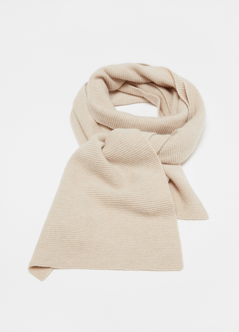 OVS Premium scarf in wool and cashmere image number null