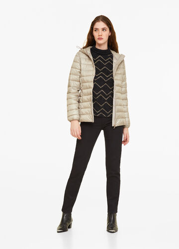 Ultra-light quilted jacket