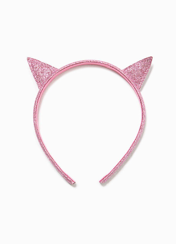 Glitter hairband with ears | OVS