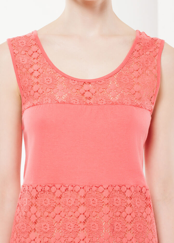 Nightdress with lace details