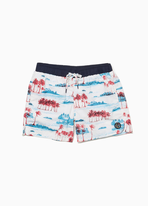 Beach shorts with pocket by Maui and Sons
