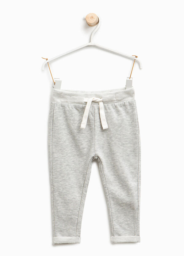Cotton trousers with drawstring | OVS