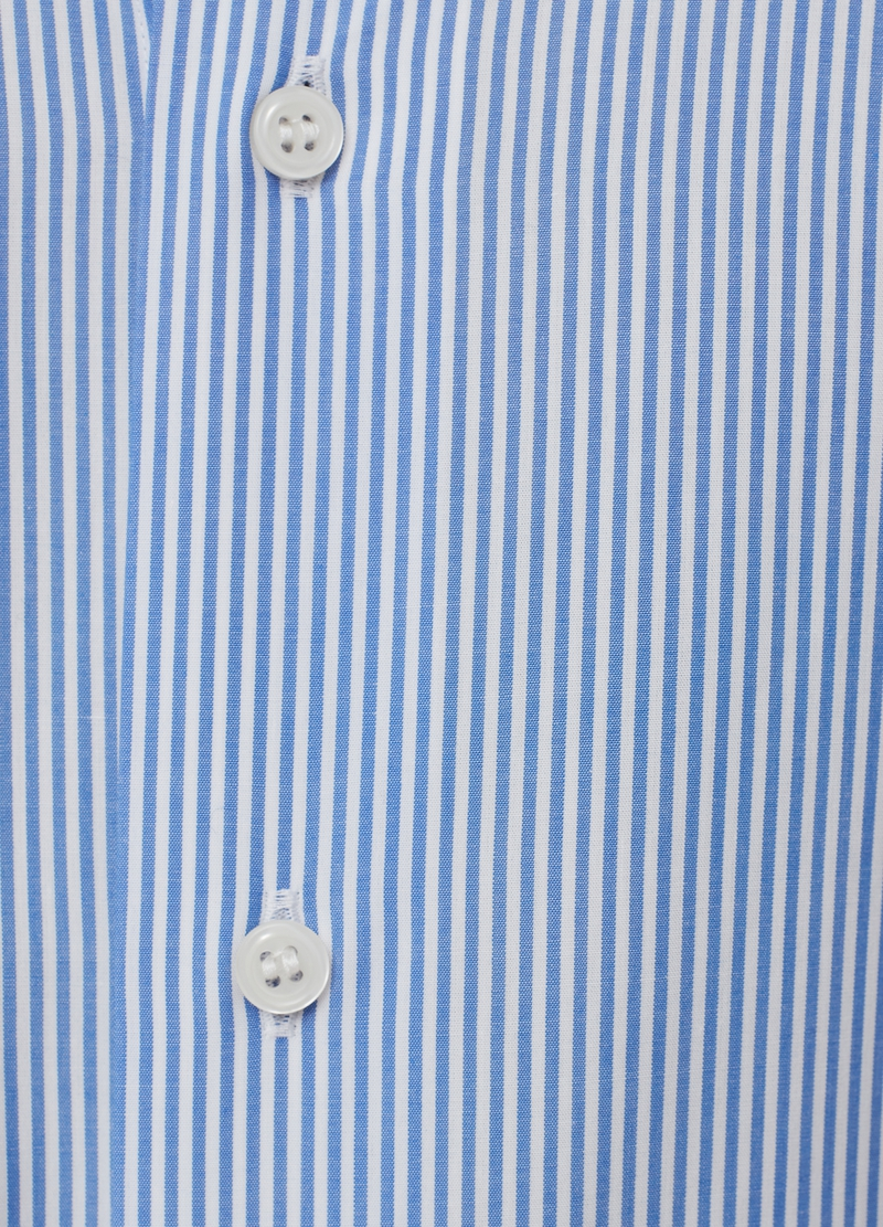 PIOMBO Camicia in puro cotone a righe image number null
