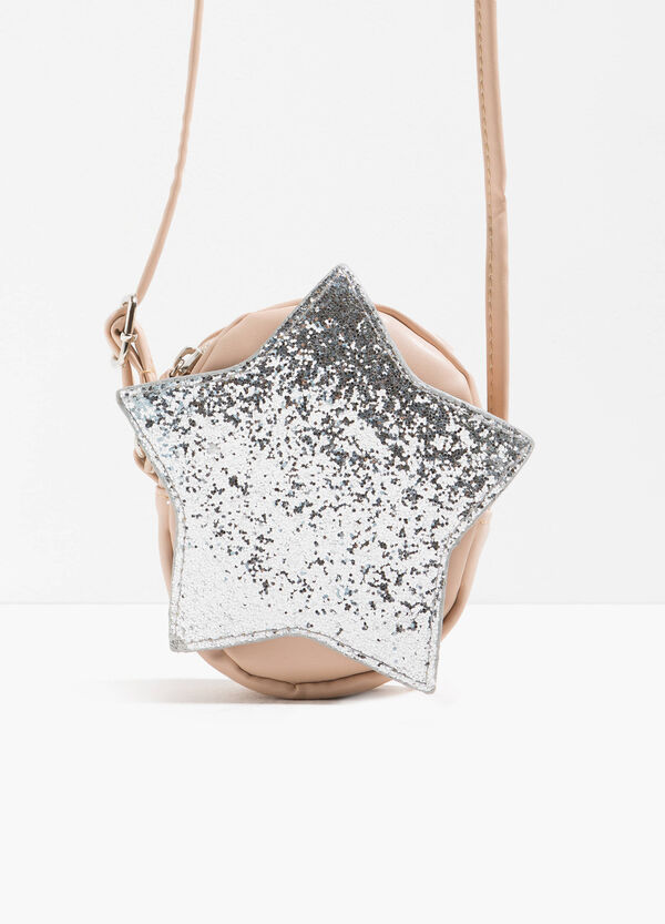 Glitter star shoulder bag
