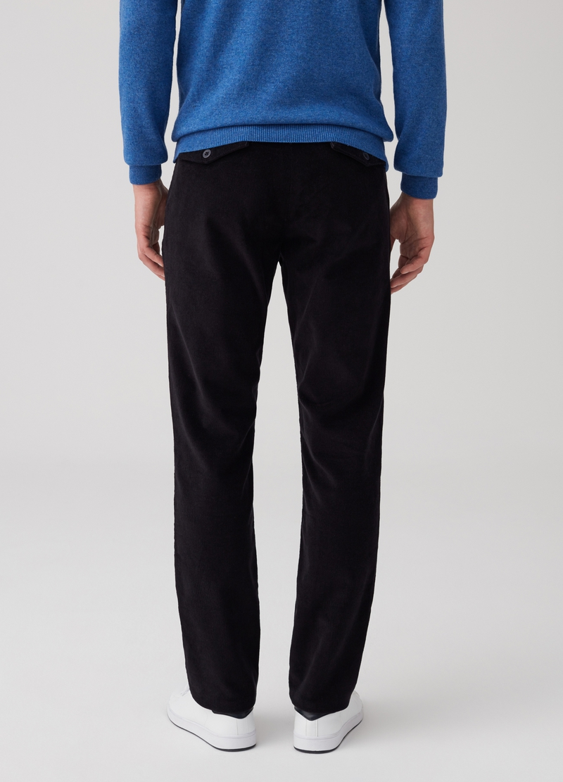 Pantaloni chino slim fit cotone stretch image number null