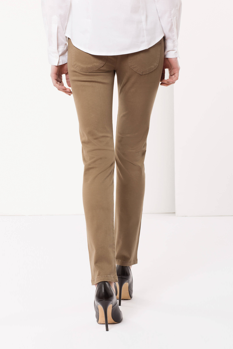 Pantaloni stretch image number null