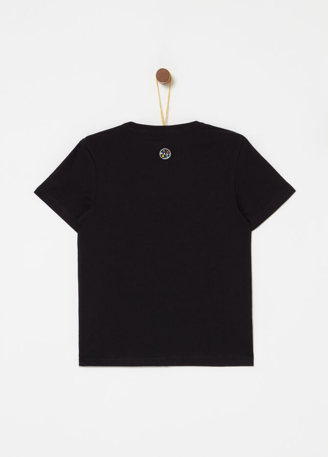 100% cotton T-shirt with ribbing by Maui and Sons