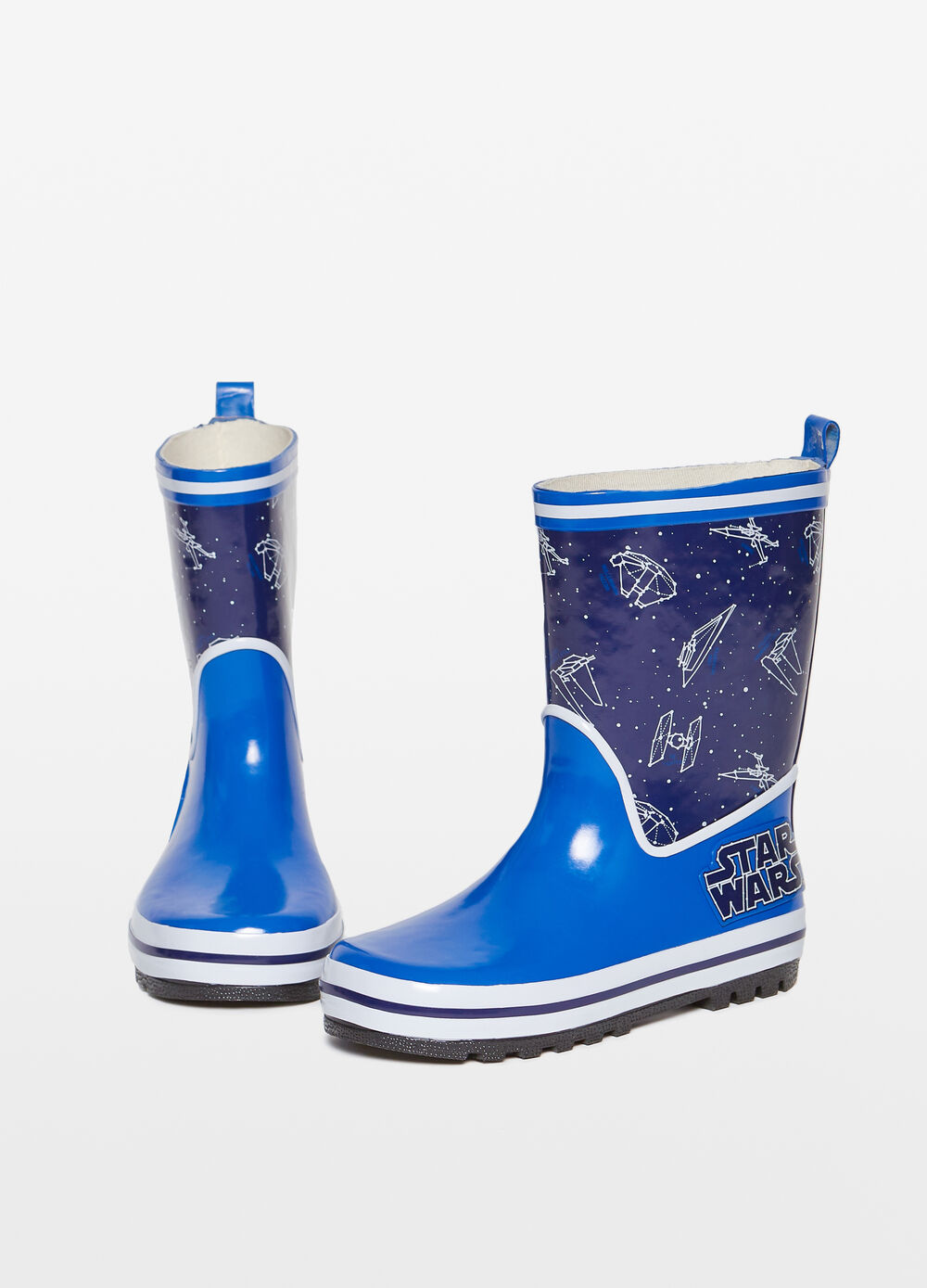 Rain boots with Star Wars print