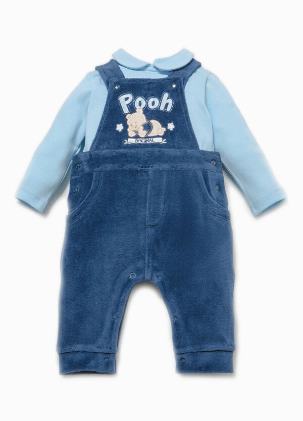 Winnie the Pooh T-shirt and dungarees set | OVS
