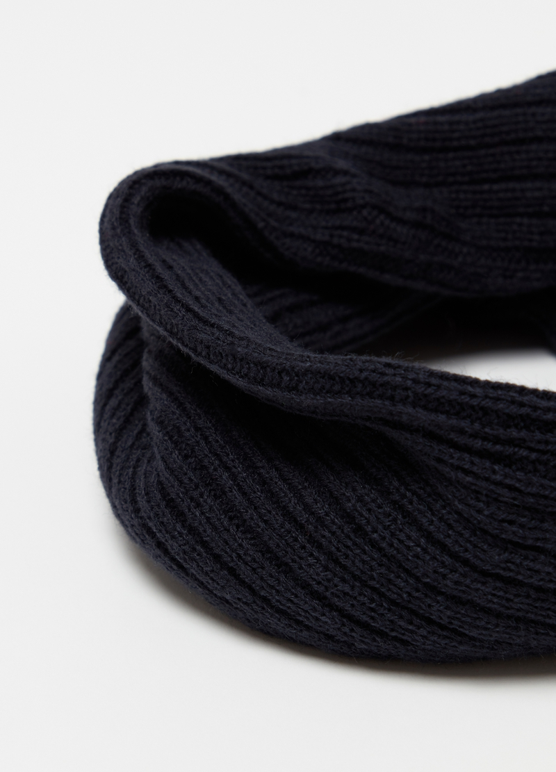 Cable knit neck warmer image number null