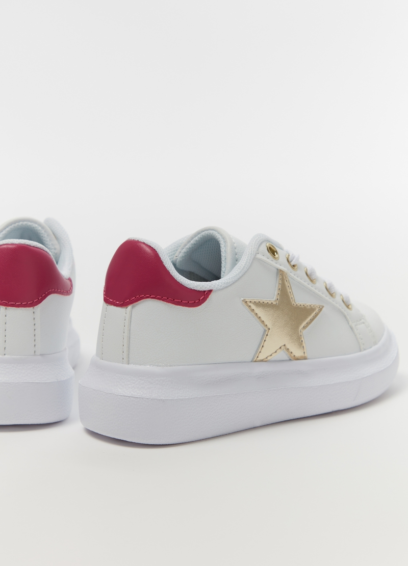 Sneakers ricamo glitter stella image number null