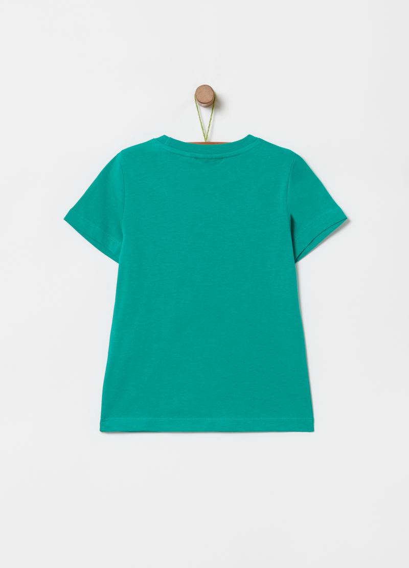 Solid colour 100% cotton T-shirt image number null