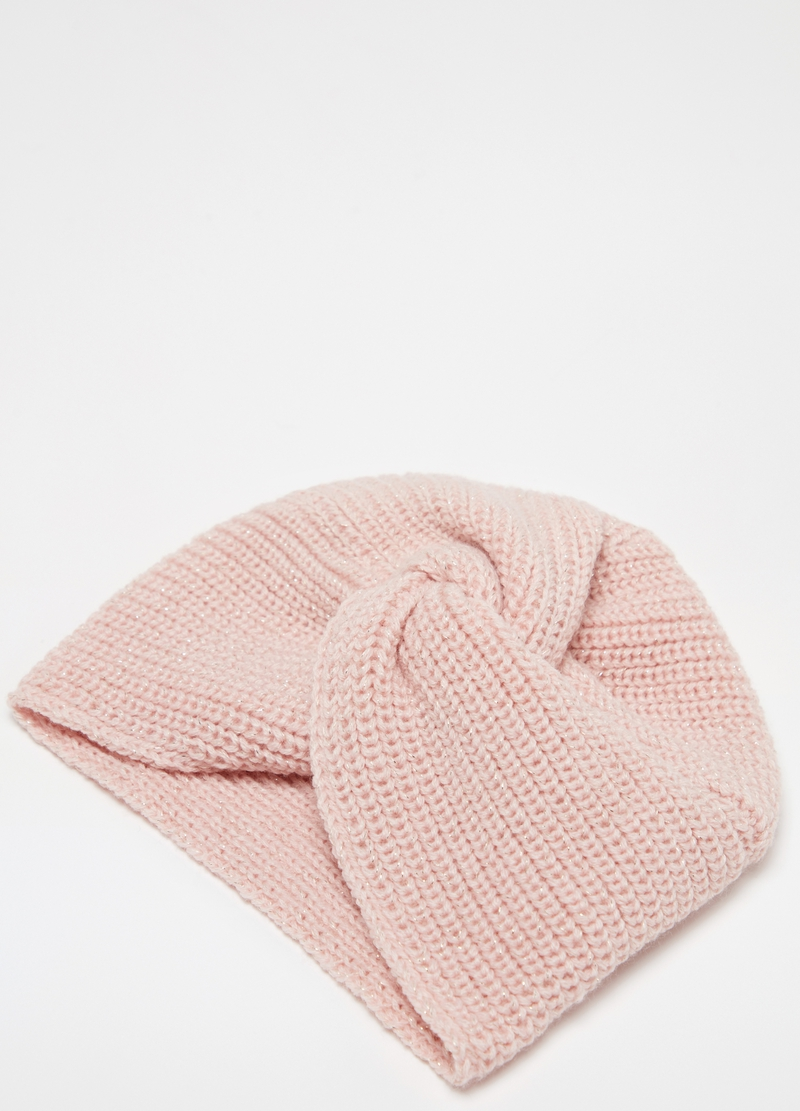Turbante tricot con lurex image number null
