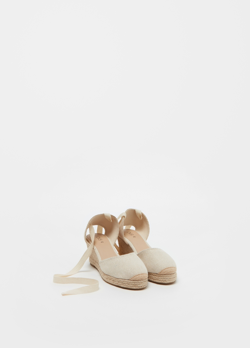 Espadrilles with wedge image number null