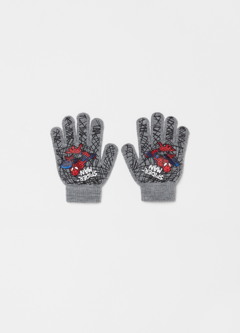 Gloves with Marvel Spider-Man print image number null